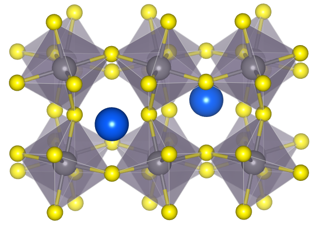 Relaxed distorted perovskite structure